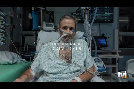 THE DIAGNOSIS: COVID-19